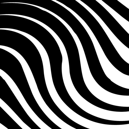 Curve Random Chaotic Lines Abstract Geometric Pattern Texture