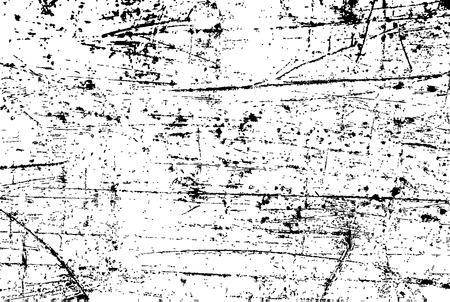 Plantilla de textura de vector urbano Grunge, fondo de socorro de superposición de polvo desordenado oscuro, efecto vintage punteado, rayado, abstracto con ruido y grano