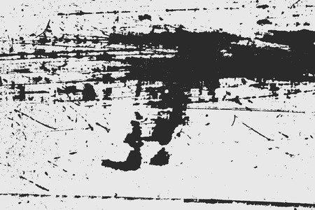 Grunge Urban Vector Texture Template, Dark Messy Dust Overlay Distress Background, Abstract Dotted, Scratched, Vintage Effect with Noise and Grain Ilustración de vector