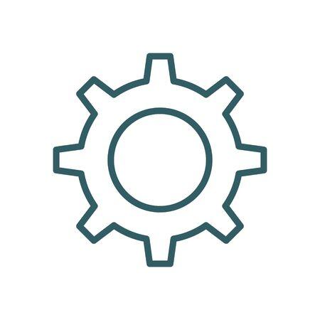 Mechanical Gears Cogwheels Set, Engineering Abstract Industrial Background