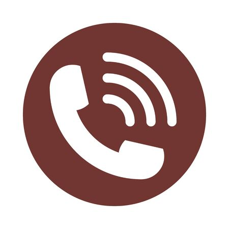 Phone Assistant Icon Design Elements, Contact Simple Glyph, Call and Telephone, Support Sign, Online Help Mobile Support Services or Message Technical Assistance Concept, Cell Vector Illustration