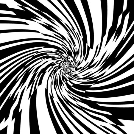 Hypnotic Psychedelic Spiral BackgroundVector Illustration,Swirling Radial Pattern,Vortex Starburst Spiral,Helix Rotation TunnelRays,Converging Psychadelic Scalable Stripes,Fun Sun Light Beams