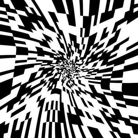 Hypnotic Psychedelic Spiral Background?Vector Illustration,?Swirling Radial Pattern,?Vortex Starburst Spiral,?Helix Rotation Tunnel?Rays,?Converging Psychadelic Scalable Stripes,?Fun Sun Light Beams Vettoriali