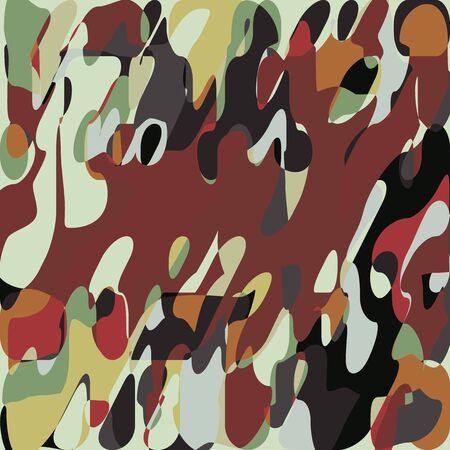 Grunge Paint Mosaic Pattern