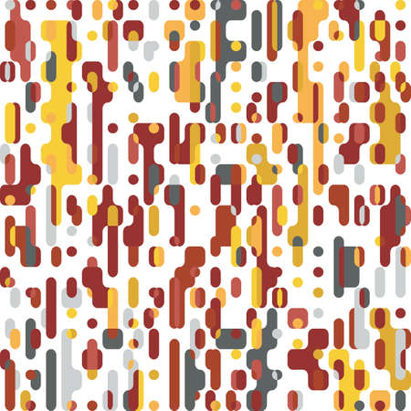 Pixel Abstract Mosaic Background Squares Design Elements Pattern Vector illustration Ilustrace