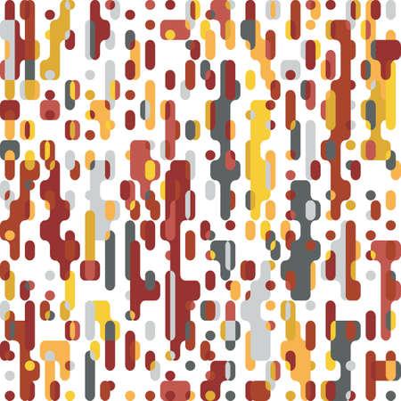 Pixel Abstract Mosaic Background Squares Design Elements Pattern Vector illustration Ilustração