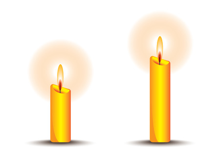rite: Candle Illustration