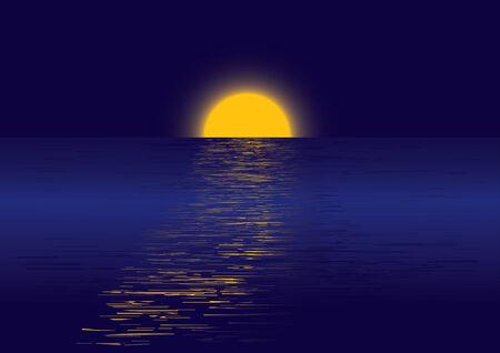moonrise: Moonrise Illustration