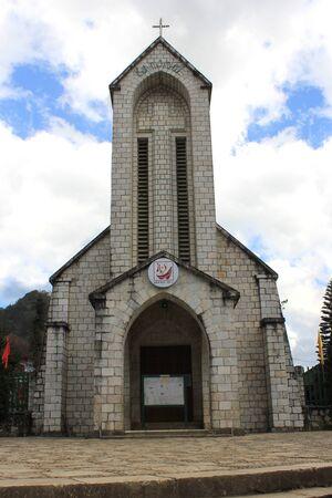 christian altar: Church Stock Photo