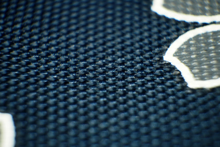 close up: blue clothTexture close up