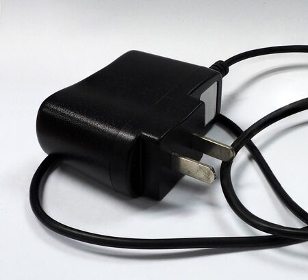 plug adapter: Black adapter for charge your phone