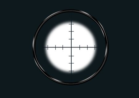 finder: sniper view finder for aim the target Stock Photo