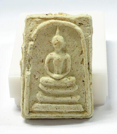 amulet: Thai amulet on the white background