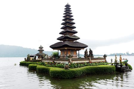 bratan: ulun danu batur temple in Ubud Bali Indonisia