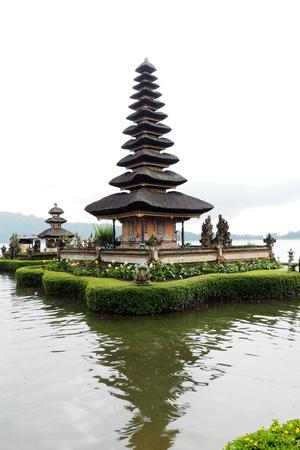 ulun: ulun danu batur temple in Ubud Bali Indonisia