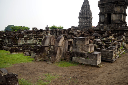 prambanan: prambanan temple in Indonesia very nice