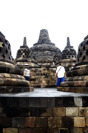 famous place: borobudur is World Heritage and famous place