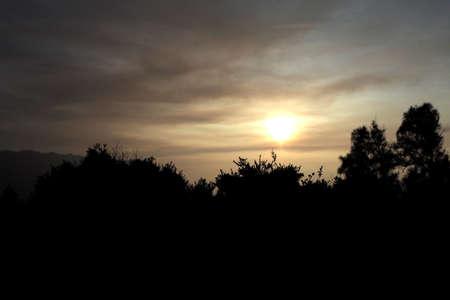 beautyful: mountain morning view very beautyful Stock Photo