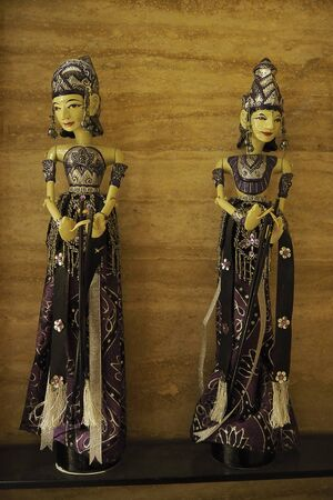 Doll in Bali style look so charm