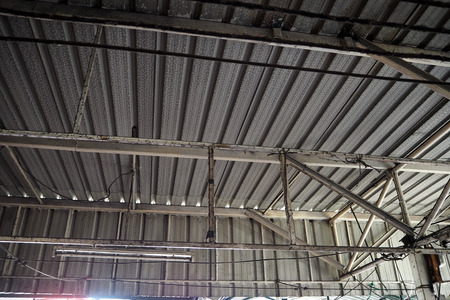 roof construction look strong nice and beautyful Stock Photo