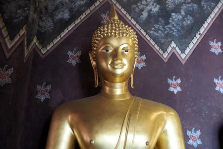 The Buddha statue look nice and look beautyful Stock Photo