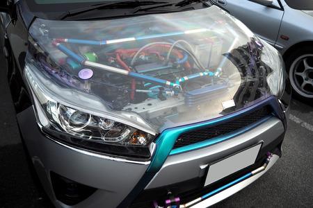 The glass Hood vehicle look very nice and beautiful