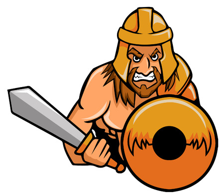 gladiator on steady position