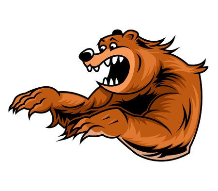 undomesticated: illustration of roar bear