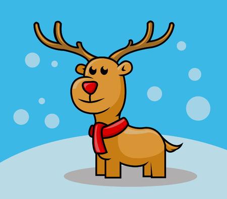 animal nose: Rudolph Deer