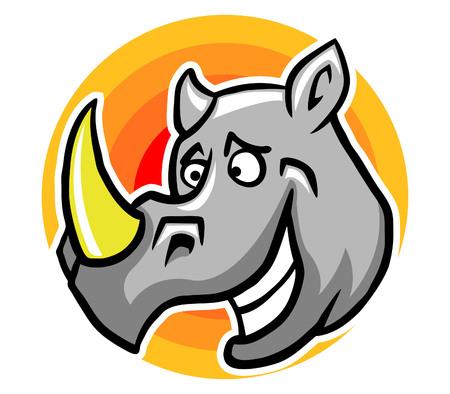 smiley: Smiley Rhinoceros