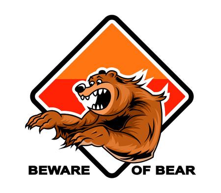 beware: Beware Of Bear