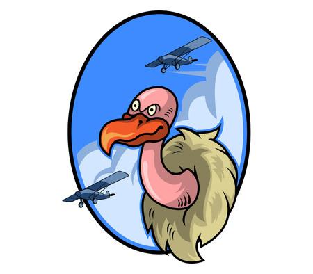 Vulture Air Force Badge