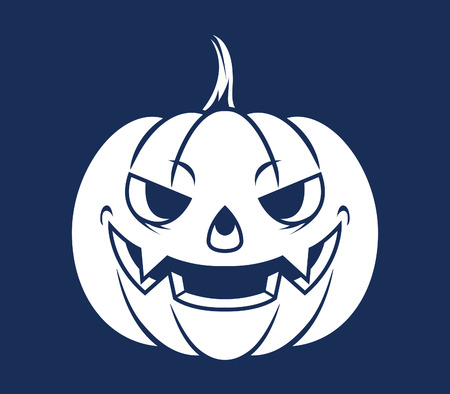 cheesy grin: Pumpkin Head Silhouette