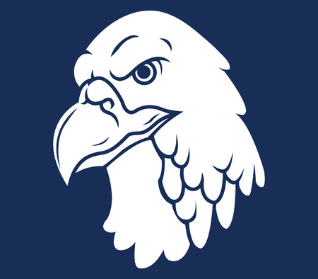 animal heads: Eagle Head Silhouette