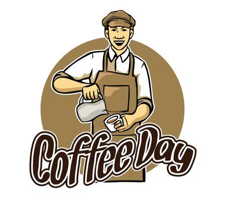 occupation: Coffee Day Greeting