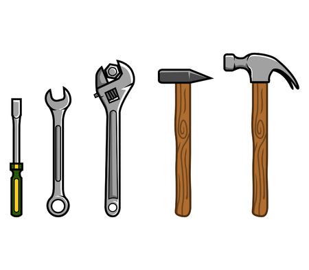 Vector illustration of Repair Tools
