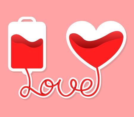 Share love and save life via blood donation.