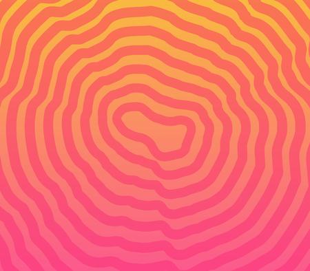 Circular psychedelic illusion color vector background. Artboad size 800 x 700 pixel.