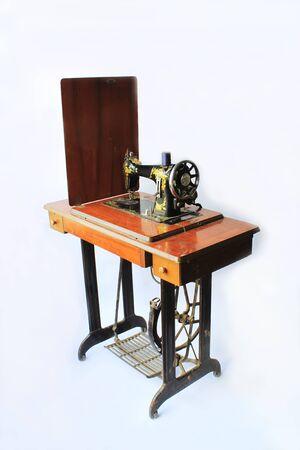 Old sewing machine. photo