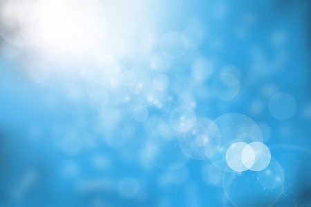 Abstract blue background elegant design.
