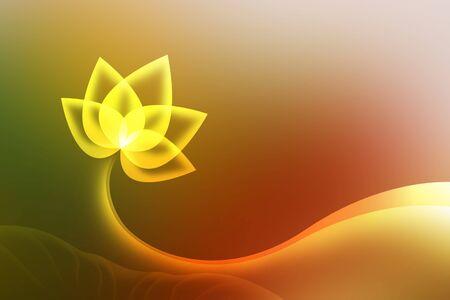 backdrop design: Abstract lotus background  background design