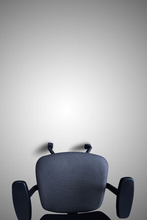 Office chair on the grey background.