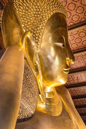 recline: Reclining Buddha in Thailand