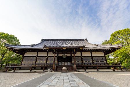 ninnaji: Part of Ninna-ji temple,The golden hall of Ninna-ji temple, Ninna-ji temple is japanese temple at Kyoto, Japan