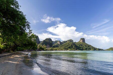 Railay Beach, beautiful beach at Krabi, Thailand