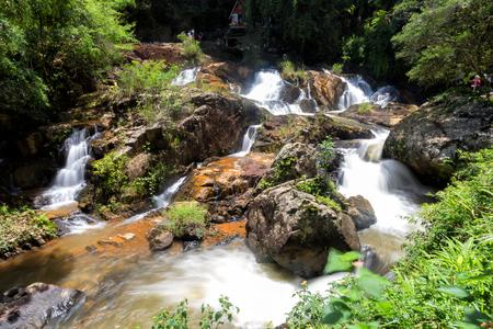 Datanla Waterfall in Dalat city, Vietnam Stock Photo