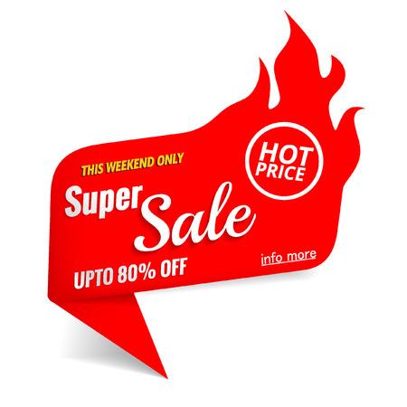 super sale hot label 일러스트