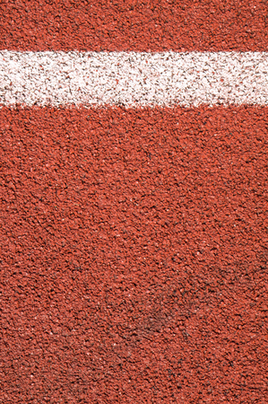 red running track background texture Stock Photo