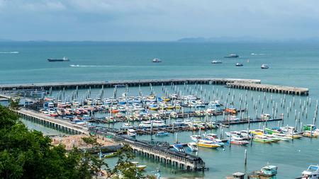 Pattaya city - Bali Hai Pier beach view of pattaya chonburi province on 2017 , Thailand Editorial