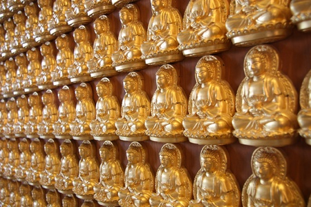 huahin: Statue of Buddha in Thailand  Stock Photo